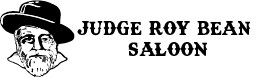 Judge Roy Bean Saloon Logo